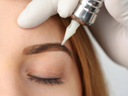 Cilia Lash Extensions and Microblading